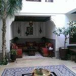 Atrium / Innenhof sehr schön und ruhig