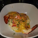 Lobster with risotto