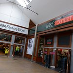Nike Factory Store and M&S Outlet