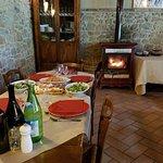 lunch at Fattoria Lischeto