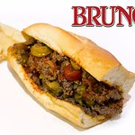 Bruno's of Downtown Lancaster offers hot sandwiches from the grill like our Cheesesteaks.