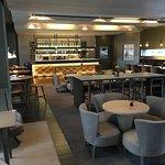 Lounge und Speiseraum