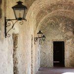 Arched portico, Mission Concepcion