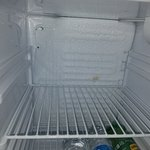 Freezer part missing in fridge