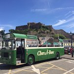 Open Top Vintage Bus at Gorey