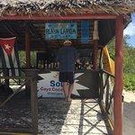 Playa Large beach bar