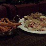 Sweet Potato Fries & Lobster Roll Sliders
