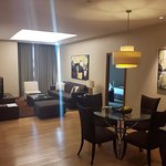 2 bedroom apartment - main lounge