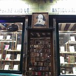 Photo of Shakespeare and Company Bookstore