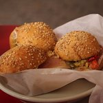 Muffuletta from Morning call these are a must try sooo good. I also loved the begaiats.