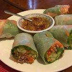 米纸卷 rice paper spring roll