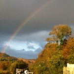Rainbow at West Loch.