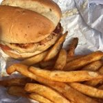Nipps Drive Through - chicken burger & fries