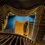 Feel weightless walking down our elegant staircase in the mansion