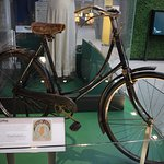 The antique bike from 1910.
