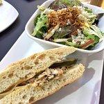 Soup & Salad combo (Tuscan Tuna and Mixed Green Salad)