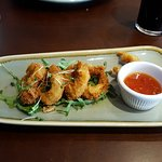 Chef's special calamari in panko bread crumbs