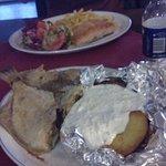okropna ryba i zimne ziemniaki