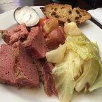 wonderful corned beef & cabbage entree!