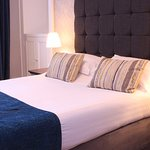 and so to bed.....in one of eight cosy, welcoming en suite guest bedrooms at Virginia House.