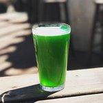St Patrick's green beer!