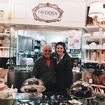 My sister and the owner of Hedera