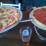 thin crust and deep dish