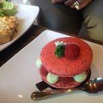 Litchi pastry