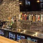 Enjoy over 20 beers on tap, with over 40 in bottles, wine variety, and spirits!