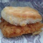 Hardees Chicken Biscuit