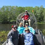 Our airboat adventure.