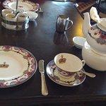 Tea setting.