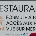 L'AILE, restaurant en bord de mer