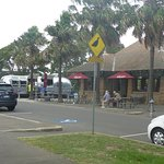 Covered Picnic Areas & Mobile Food Truck