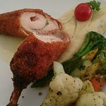 Chicken Cordon Bleu was out of this world