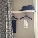 "practically unusable ""closet"" -- and ugly, too."