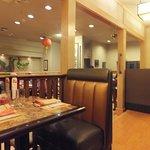Beautiful interior of the restaurant