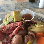 The best corn beef and cabbage every St. Patrick's Day!