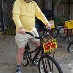 Getting ready to Bike with LLoyd