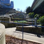 Riverwalk stairs