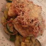 Chicken bruschetta was amazing! Beautiful flavors.