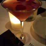Wild orchid Hawaiian martini!