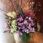 Lobby Flower arrangement