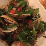 Clams with black bean sauce. WOW