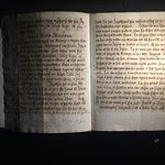 Ancient manuscript.