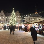 Christmas markets in main square