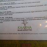 Kaarna Resturant
