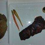 Biscayne USDA Choice Strip Steak & baked potato