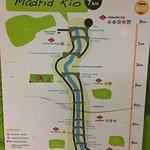 Map of Madrid Rio