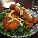 Crumbed Snapper...So Delish!